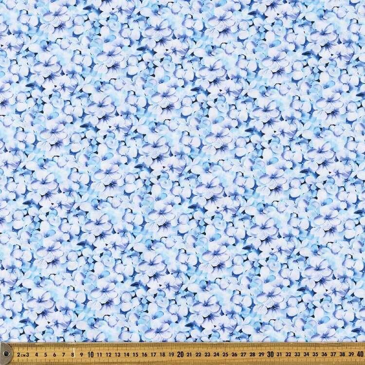 Oriental TC Petals Printed 112 cm Polyester Cotton Poplin Fabric