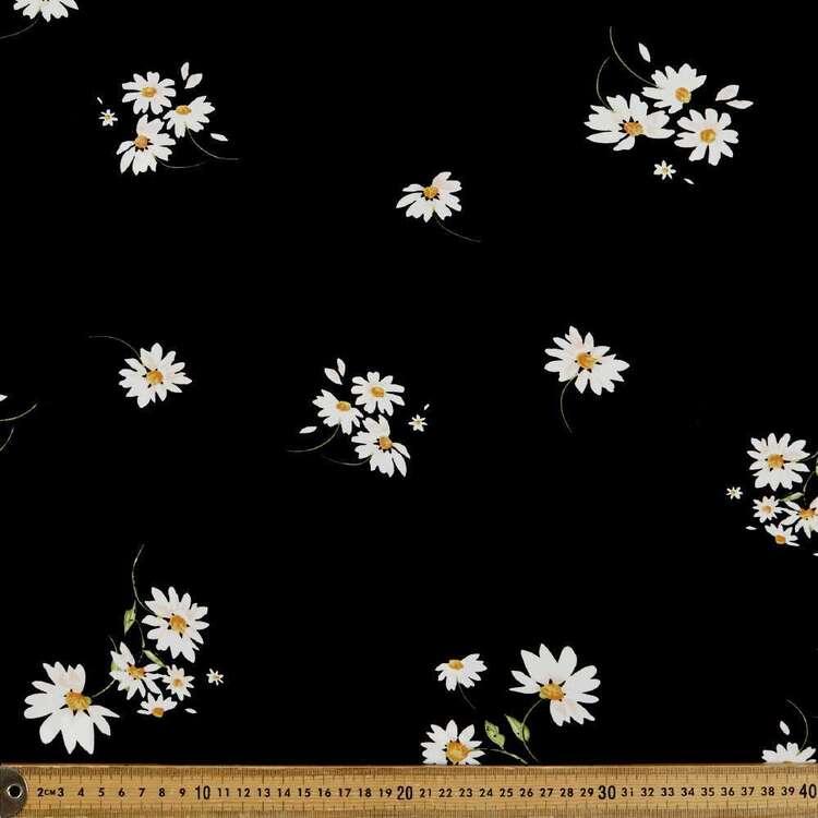 Pretty Daisy Printed 135 cm Rayon Fabric
