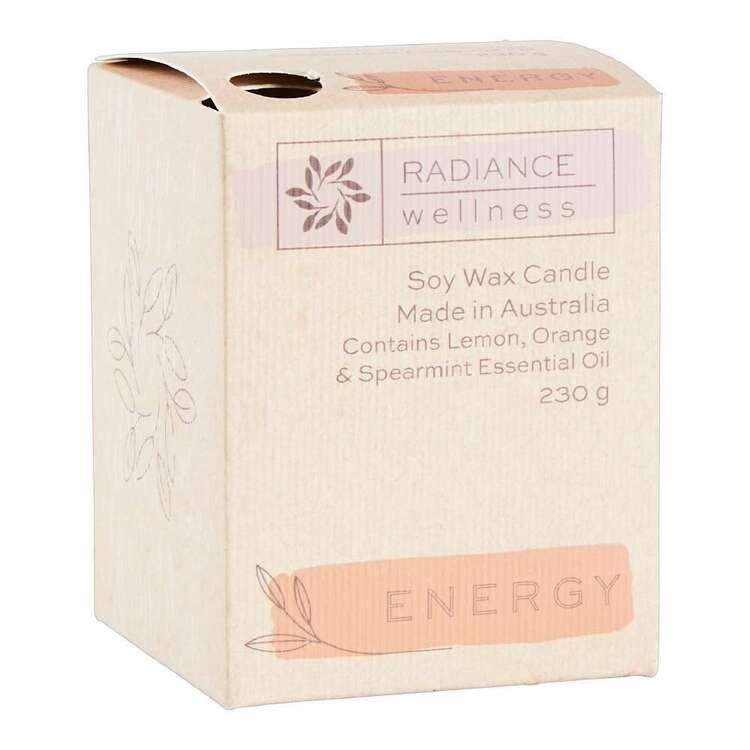 Radiance Wellness Energy Soy Wax Candle