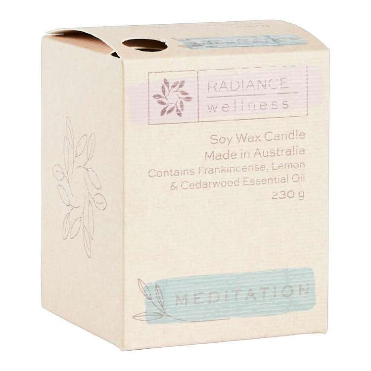 Radiance Wellness Meditation Soy Wax Candle