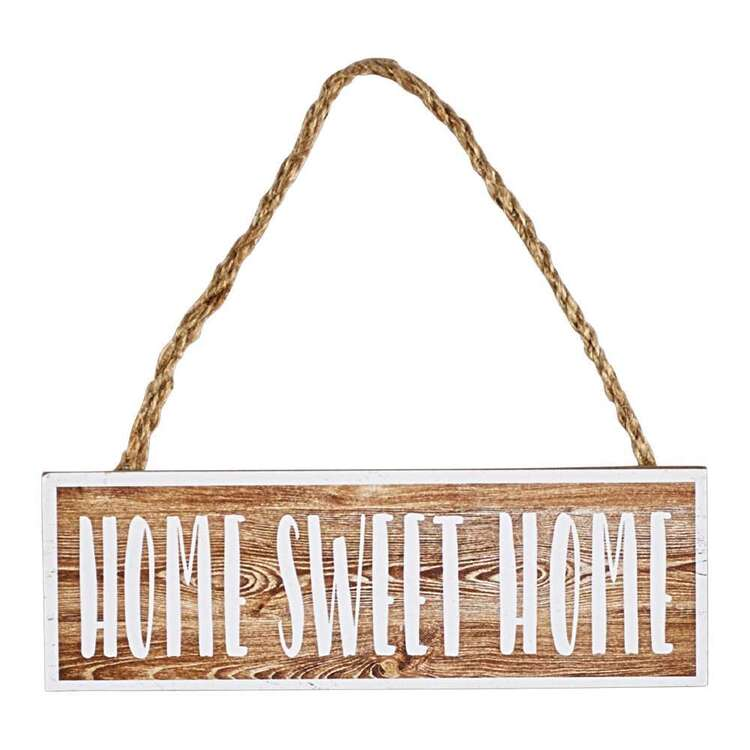 Living Space Home Sweet Home Plaque
