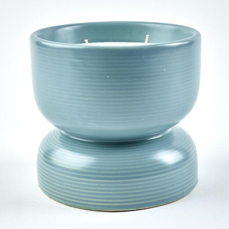 Scentsia 290 g Ceramic Hour Glass Candle
