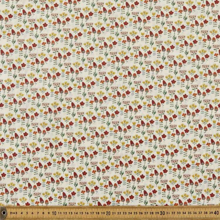Mix N Match TC In The Forest Printed 112 cm Poly Cotton Fabric
