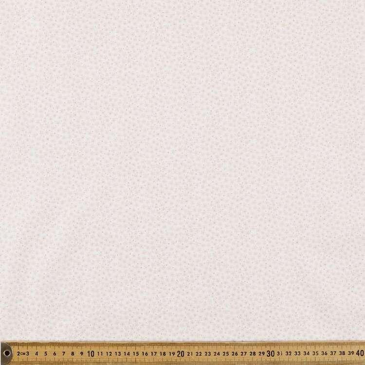 Mix N Match TC Daisy Spot Printed 112 cm Poly Cotton Poplin Fabric