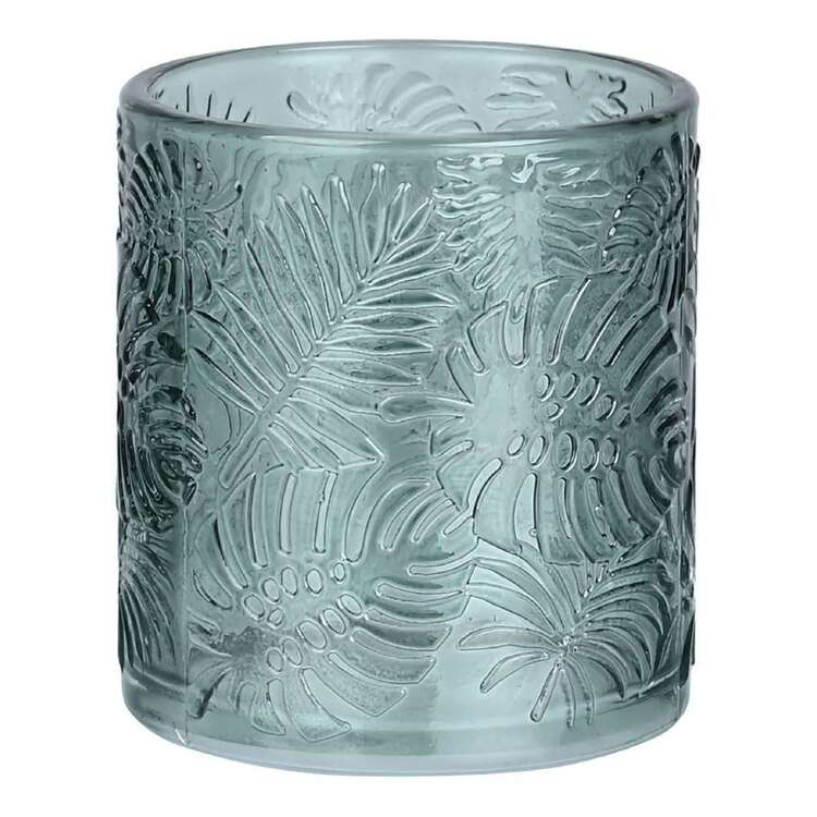Ombre Home Wandering Nomad 7.2 cm x 8 cm Fern Glass Candle Holder