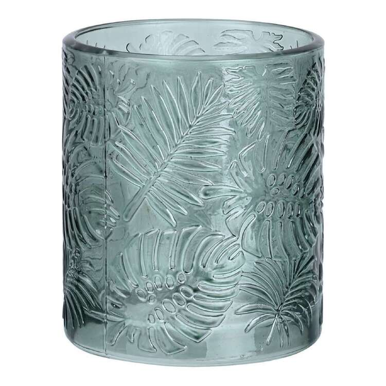 Ombre Home Wandering Nomad 8.5 cm x 10 cm Fern Glass Candle Holder