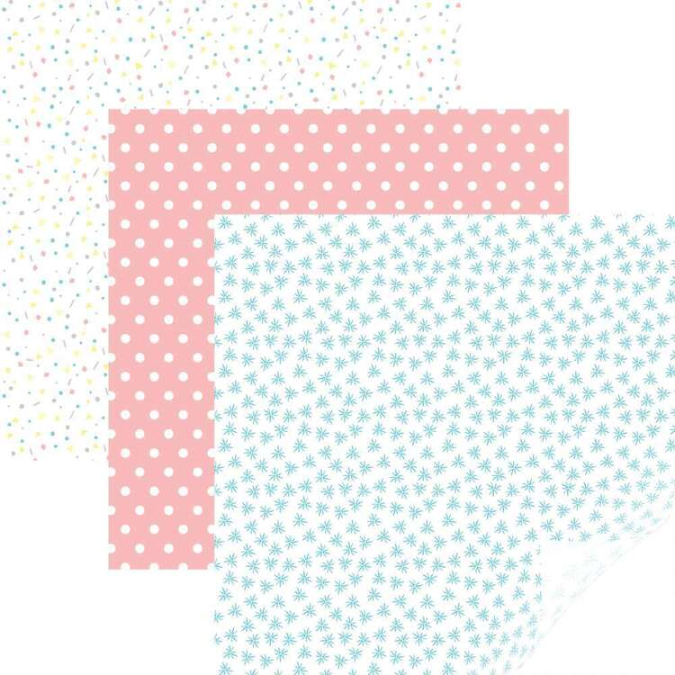 Cricut 12 x 17 in Party Time Pastels Patterned Iron On