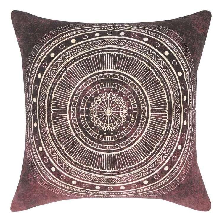 Ombre Home Wandering Nomad Folk Mandala Cushion