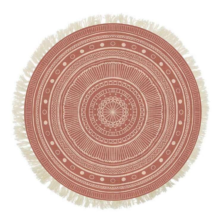 Ombre Home Wandering Nomad Folk Round Rug