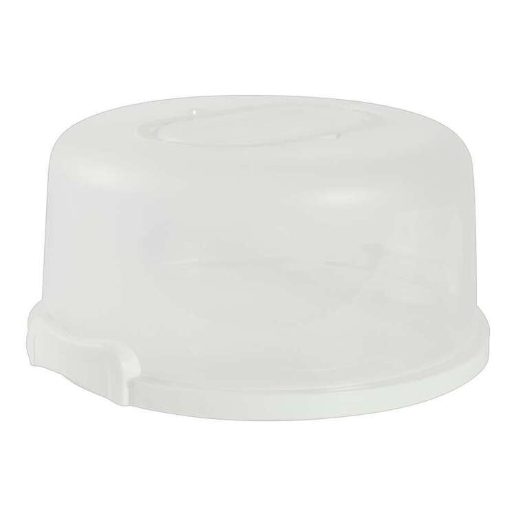 Party Creator White Round Cake Box & Cupcake Carrier