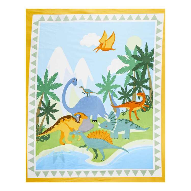 Dinosaur Land Cot Panel