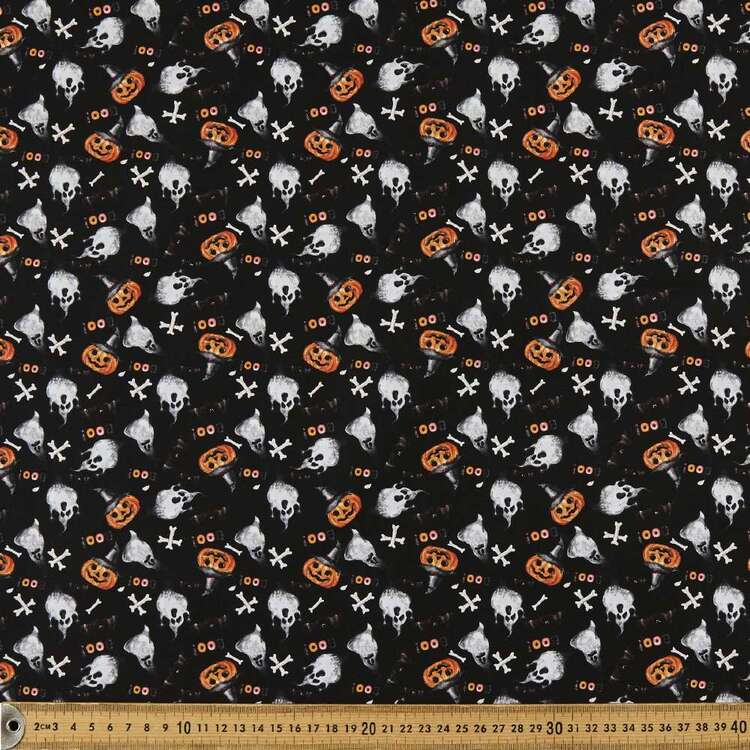 Spooky Mix Up Cotton Fabric