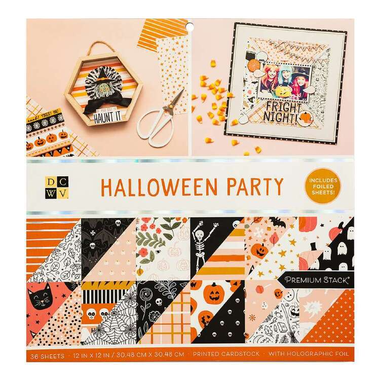 Die Cuts With A View Halloween Party 12 x 12 in Paper Pad