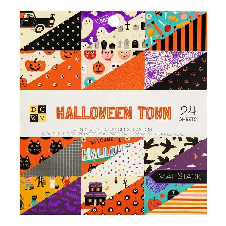 Die Cuts With A View Halloween Town Paper Pad