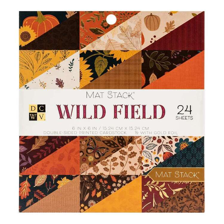 Die Cuts With A View Wild Field Paper Pad