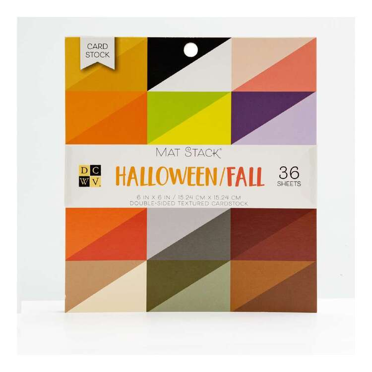 Die Cuts With A View Halloween Solid Paper Pad