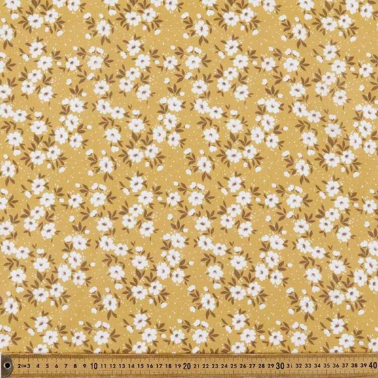 Annie Digital Printed 112 cm Cotton Linen Fabric