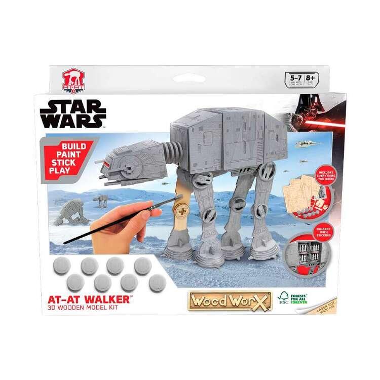 Colorific At-at Walker 3D Wooden Model Star Wars Kit