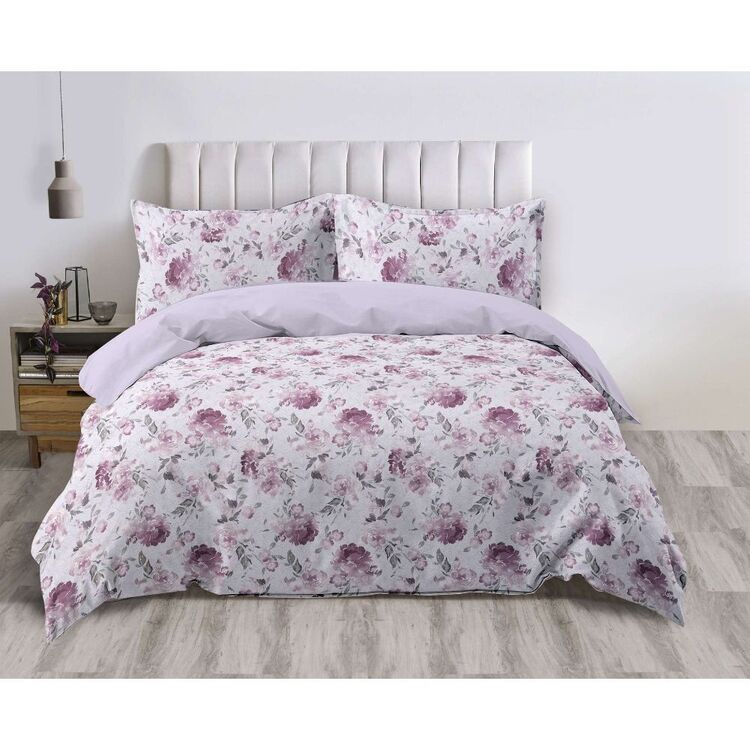 Emerald Hill Blossom Quilt Cover Set