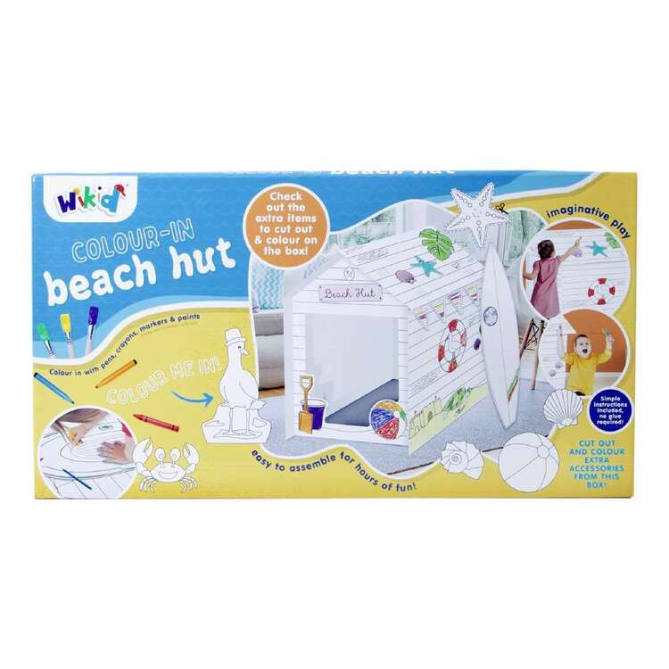 Wicked Beach Hut Cubby House