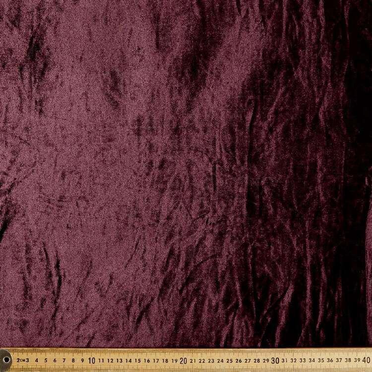 Plain 150 cm Stretch Velour Fabric