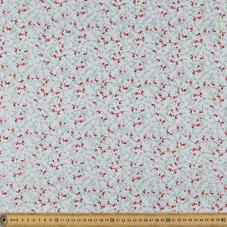 Joyful Tidings Christmas Berries Cotton Fabric