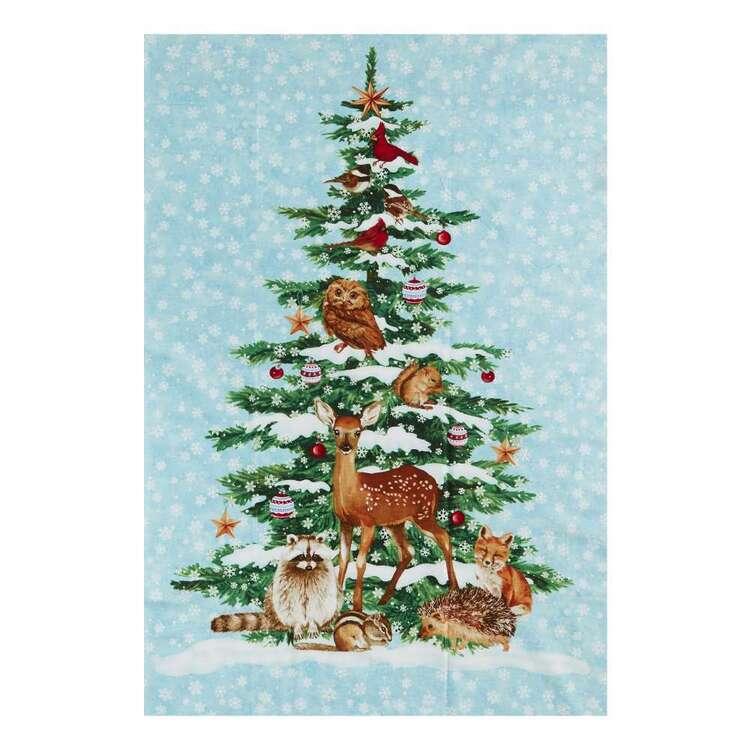 Studio E Winterwood Christmas Printed 60 cm Cotton Fabric Panel