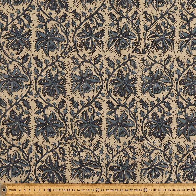 Sundance Printed 112 cm Vegetable Dye Cotton Fabric