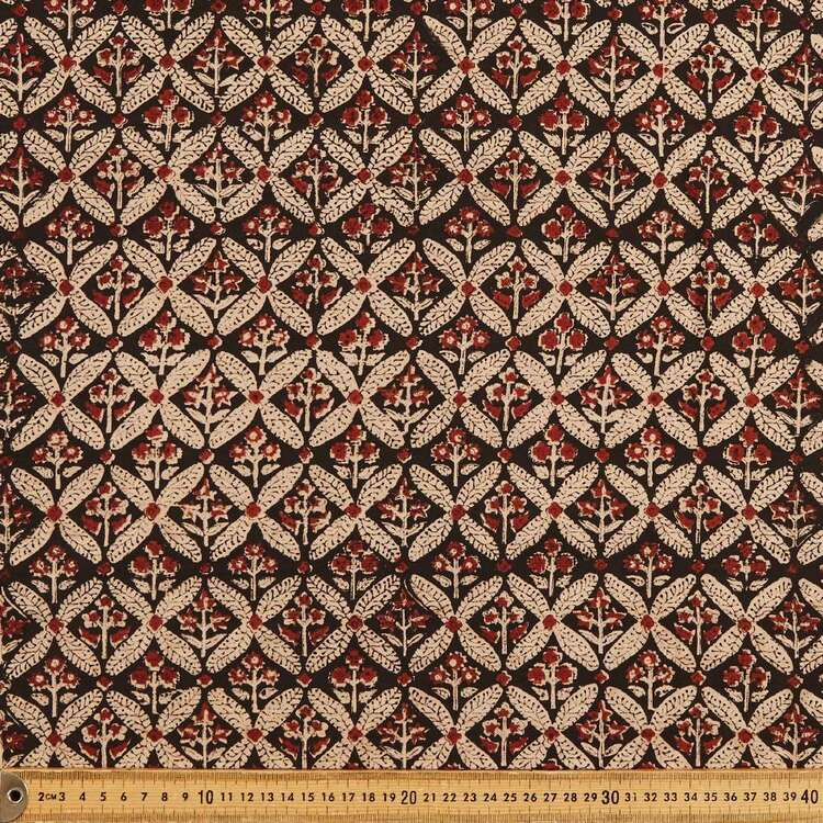 Glastonbury Printed 112 cm Vegetable Dye Cotton Fabric