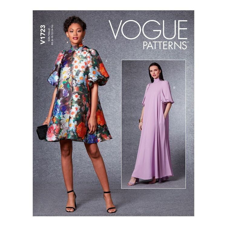 Vogue Sewing Pattern V1723 Misses' Special Occasion Dress