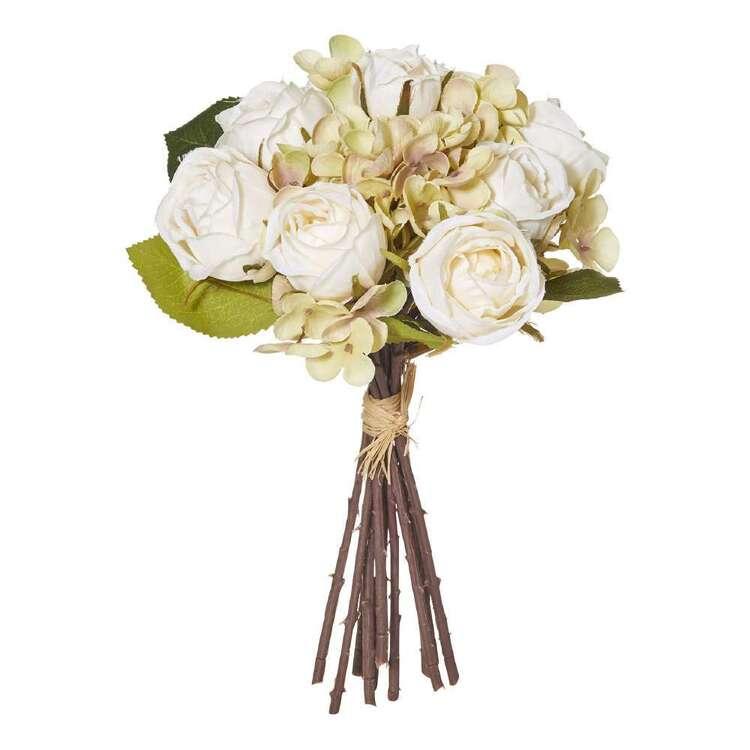 Rogue Rose & Hydrangea Bouquet