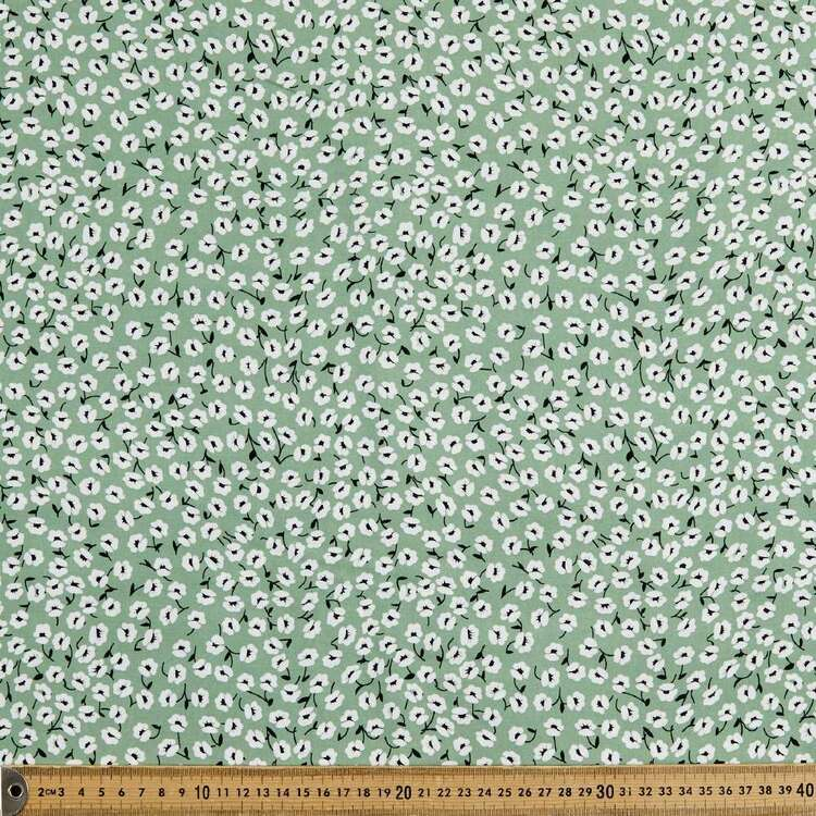 Green With Envy Printed 135 cm Rayon Fabric