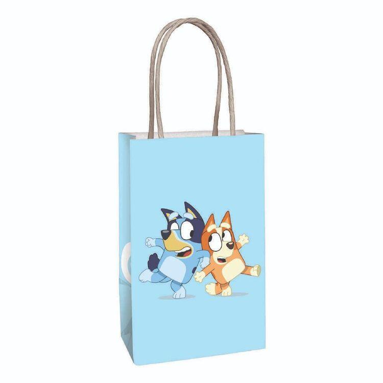 Bluey Kraft Bags 8 Pack