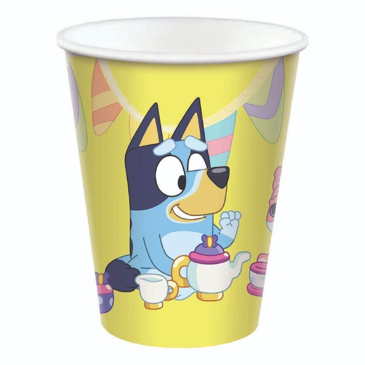 Bluey Paper Cups 8 Pack