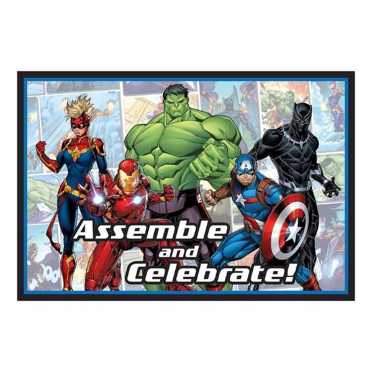 Powers Unite Marvel Avengers Postcard Invitations 8 Pack