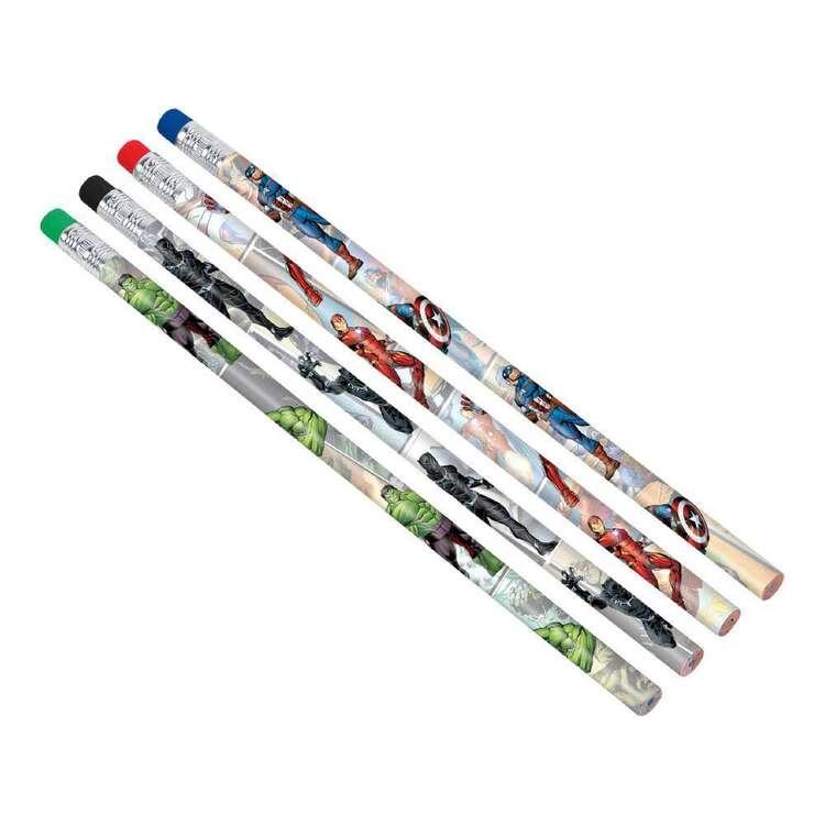 Powers Unite Marvel Avengers Pencil Favours 8 Pack