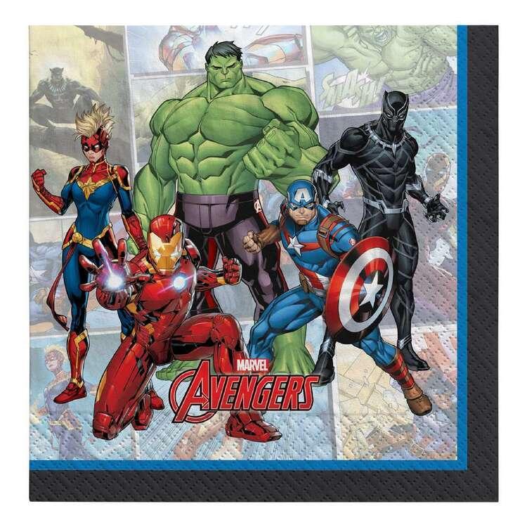 Powers Unite Marvel Avengers Luncheon Napkins 16 Pack