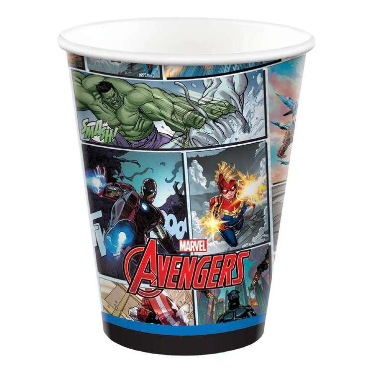 Powers Unite Marvel Avengers Paper Cups 8 Pack