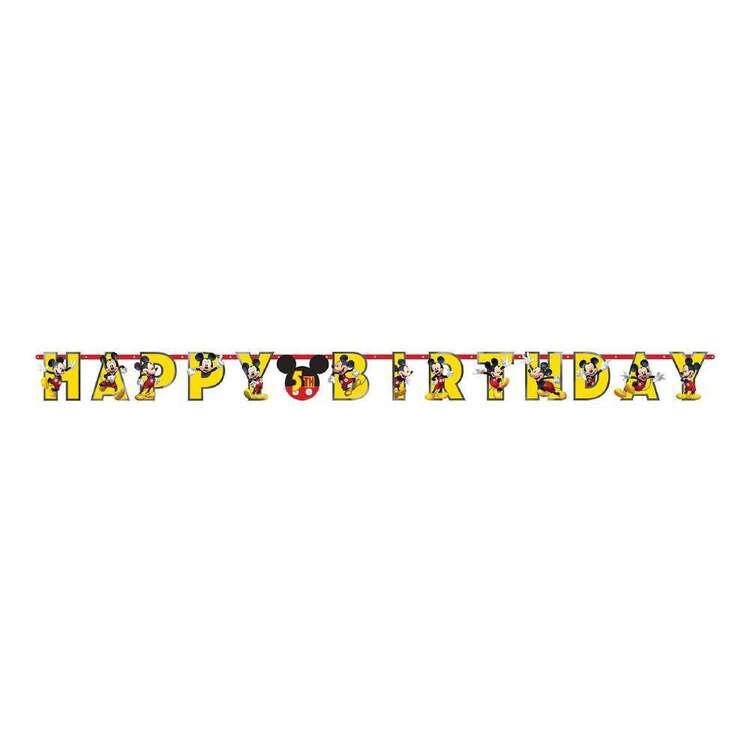 Mickey Mouse Jumbo Birthday Banner Kit