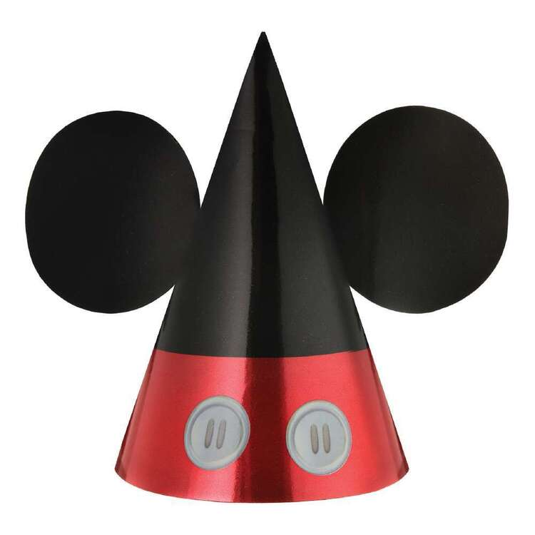 Mickey Mouse Party Hats 8 Pack