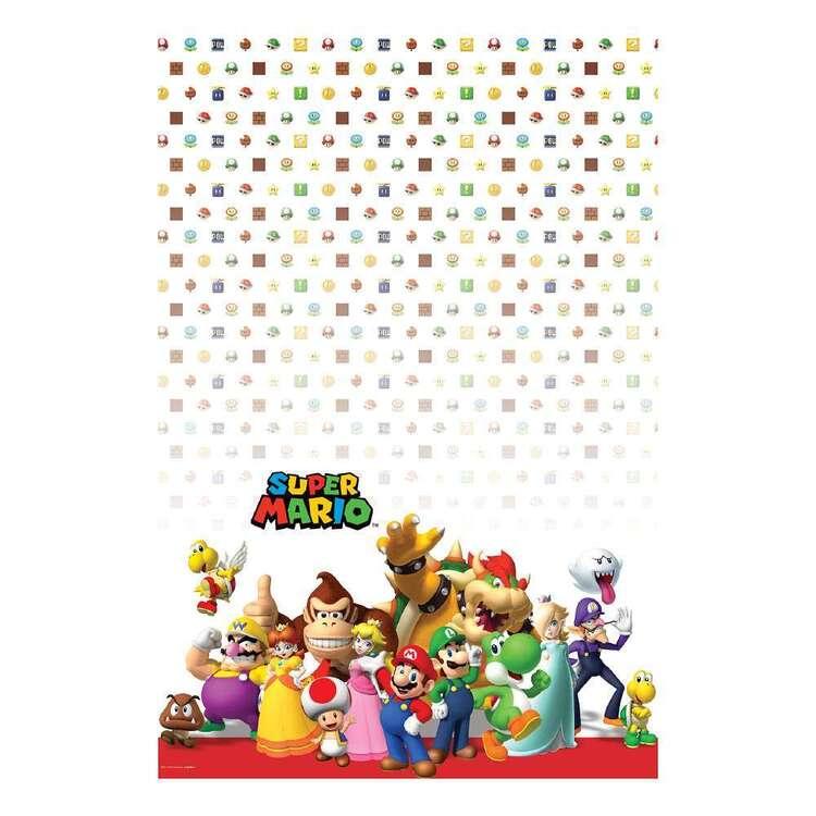 Super Mario Bros Table Cover