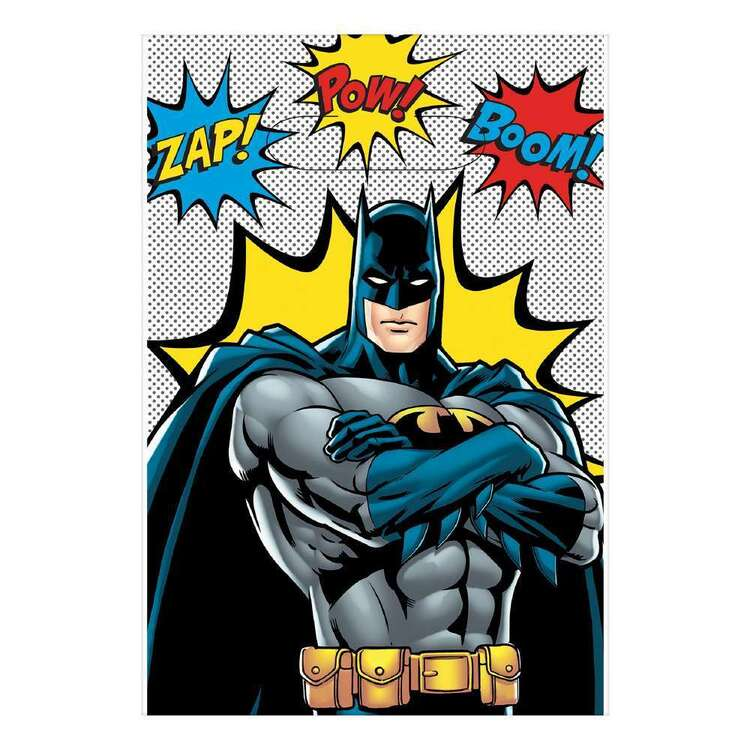 Batman Heroes Unite Loot Bags 8 Pack