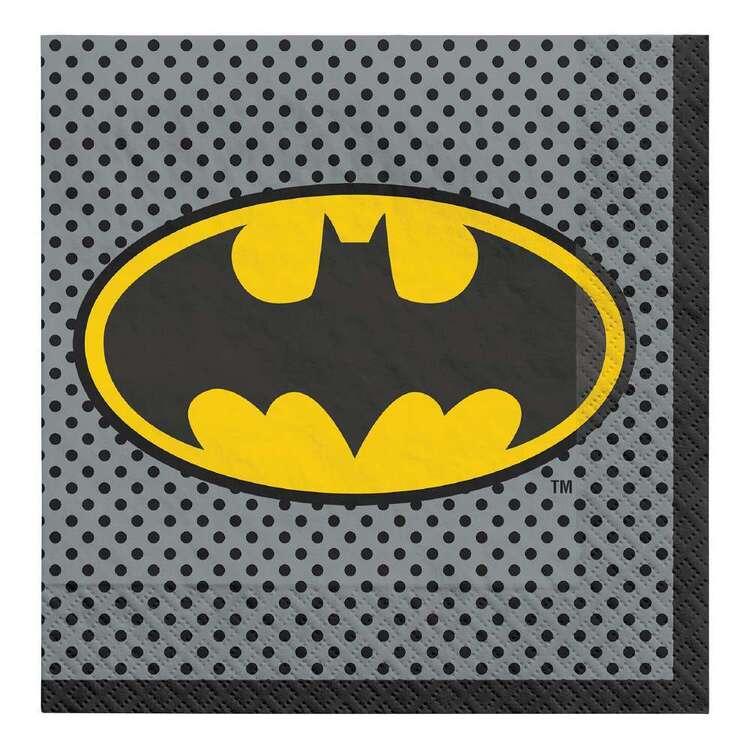Batman Heroes Unite Lunch Napkins 16 Pack