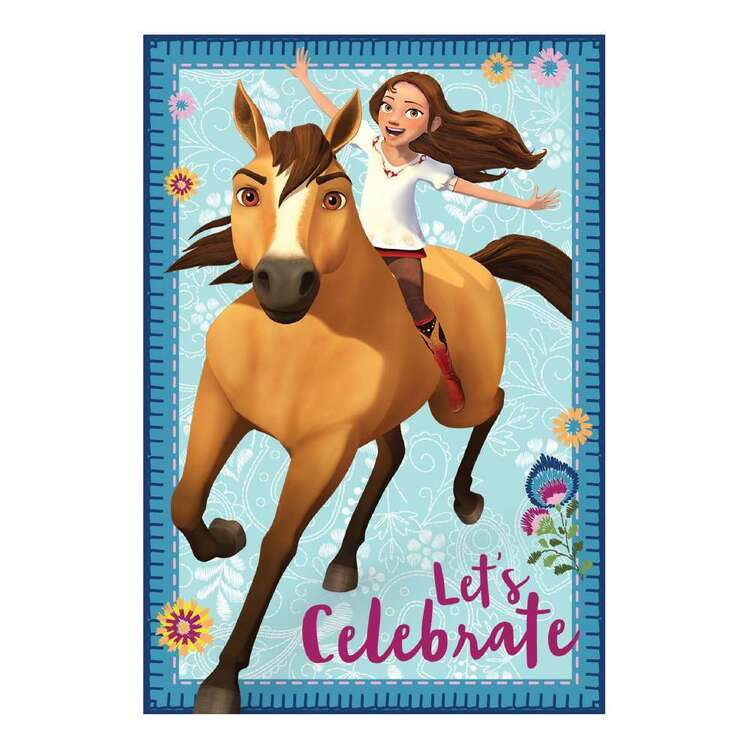 Spirit Riding Free Postcard Invitations 8 Pack