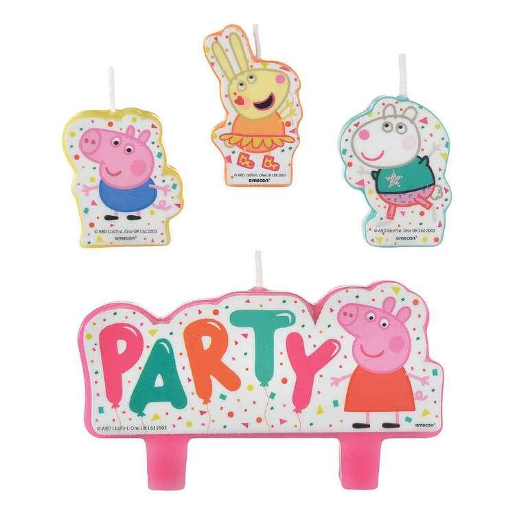 Peppa Pig Candle Set 4 Pack