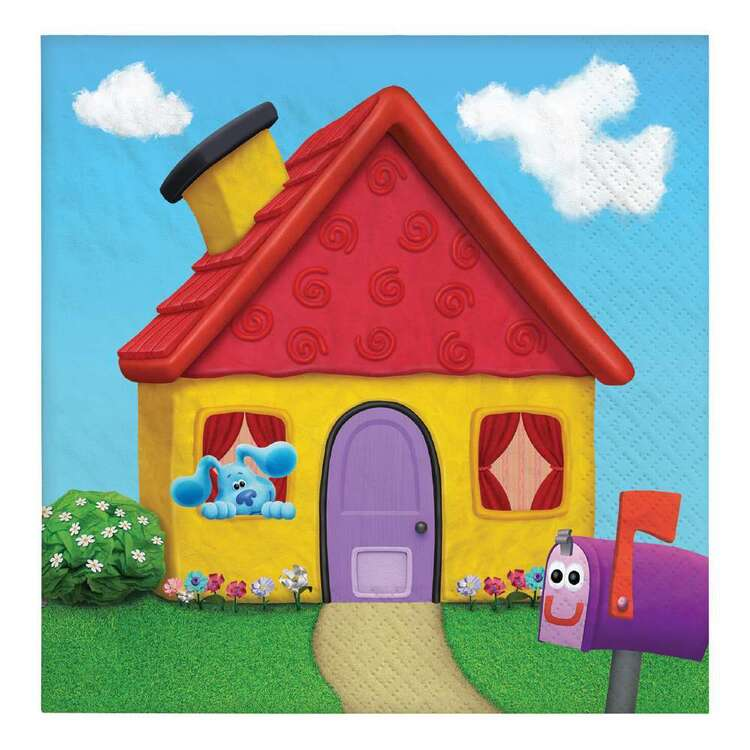 Blues Clues Lunch Napkins 16 Pack