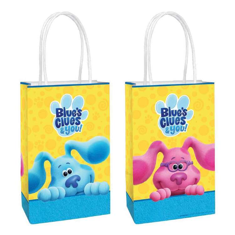 Blues Clues Paper Kraft Bags 8 Pack