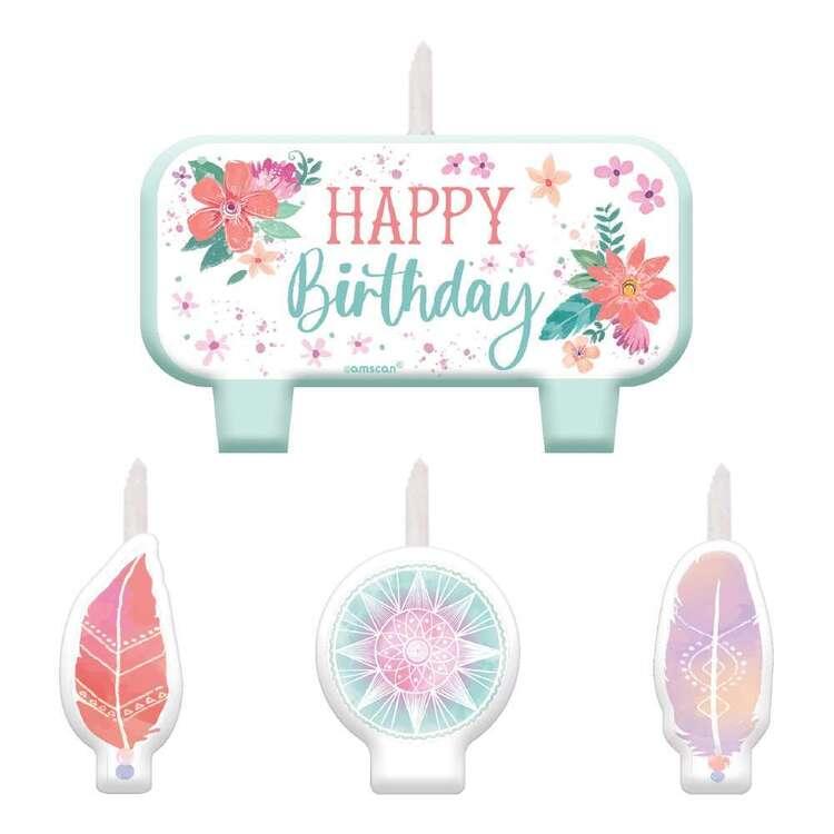 Amscan Free Spirit Candle Set