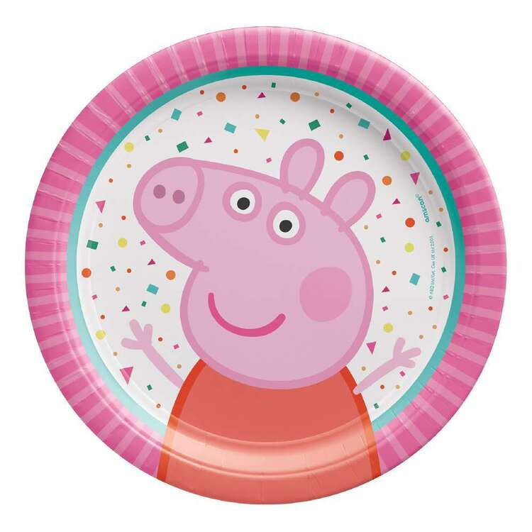 Peppa Pig Paper Plates 8 Pack