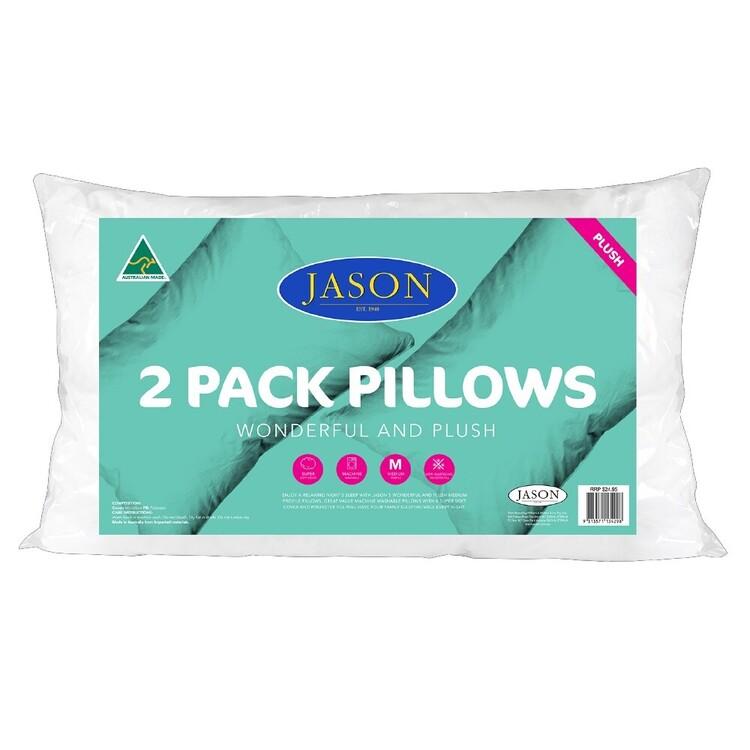 Jason Wonderful & Plush Standard Pillow 2 Pack